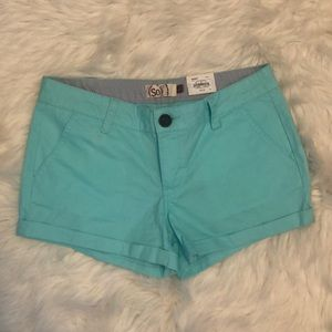 !!!NEW!!! Trendy teal short shorts